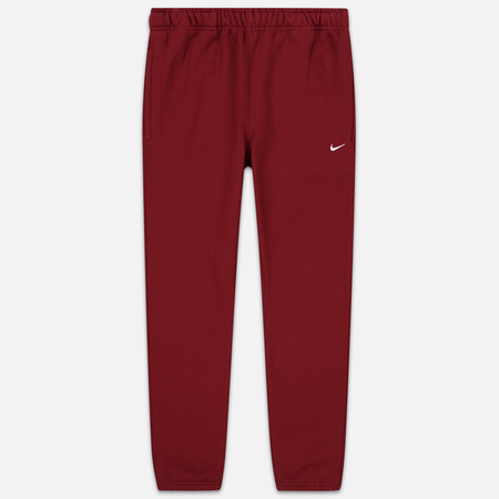 Мужские брюки Nike NRG Embroidered Swoosh Team Red/White