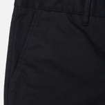 Мужские брюки Norse Projects Aros Heavy Chino Black фото- 1