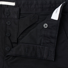 Мужские брюки Norse Projects Aros Heavy Chino Black фото- 2