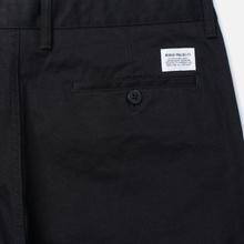 Мужские брюки Norse Projects Aros Heavy Chino Black фото- 3