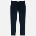 Norse Projects Aros Heavy Chino Men's Trousers Dark Navy photo- 0