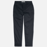 Norse Projects Aros Heavy Chino Men's Trousers Dark Navy photo- 1