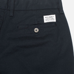 Norse Projects Aros Heavy Chino Men's Trousers Dark Navy photo- 4