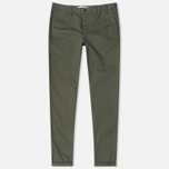 Мужские брюки Norse Projects Aros Heavy Chino Dried Olive фото- 0