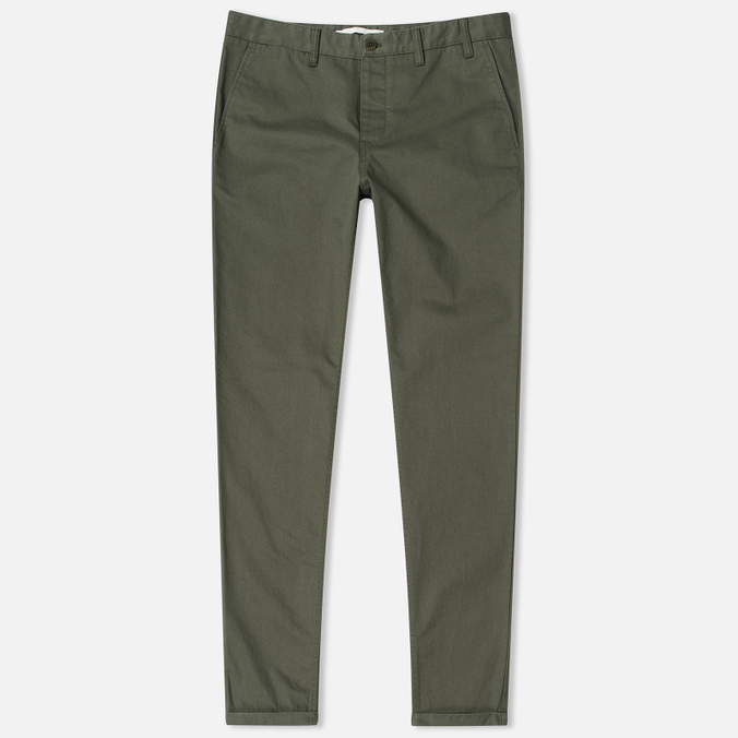 Мужские брюки Norse Projects Aros Heavy Chino Dried Olive