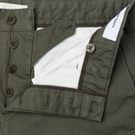Мужские брюки Norse Projects Aros Heavy Chino Dried Olive фото- 2