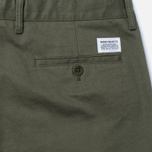 Мужские брюки Norse Projects Aros Heavy Chino Dried Olive фото- 3