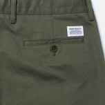 Norse Projects Aros Heavy Chino Men's trousers Dried Olive photo- 3