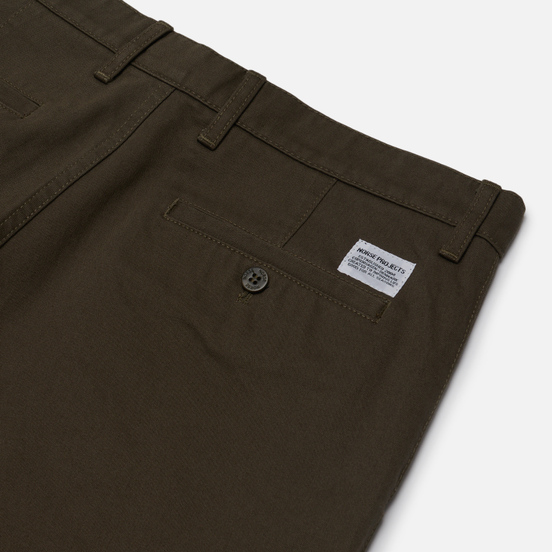 Мужские брюки Norse Projects Aros Heavy Chino Ivy Green