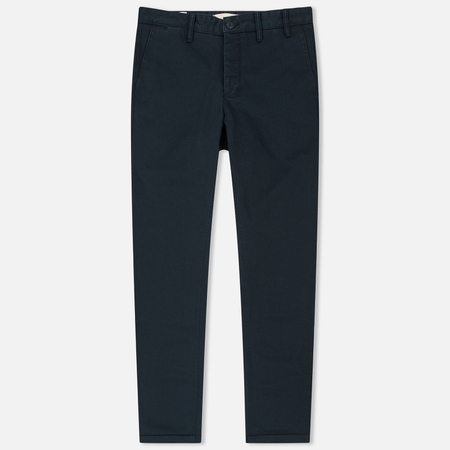 Мужские брюки Norse Projects Aros Heavy Chino Navy