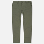 Мужские брюки Norse Projects Aros Light Twill Dried Olive фото- 0