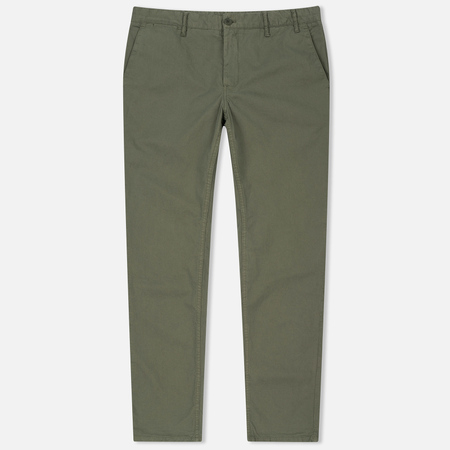 Мужские брюки Norse Projects Aros Light Twill Dried Olive
