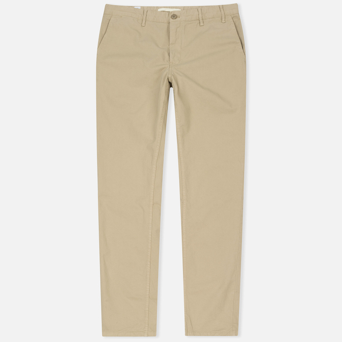 Мужские брюки Norse Projects Aros Light Twill Khaki