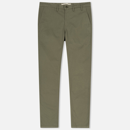 Мужские брюки Norse Projects Aros Light Twill Lichen