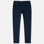 Norse Projects Aros Light Twill Men's Trousers Navy photo- 1