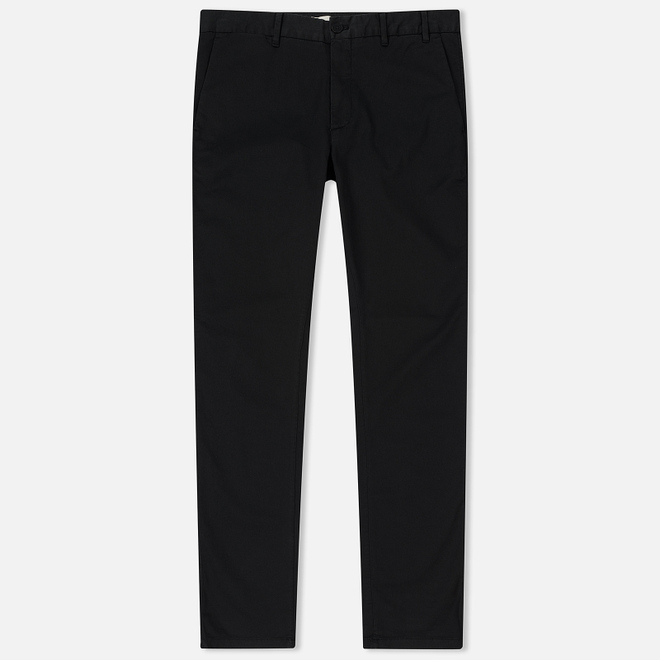 Мужские брюки Norse Projects Aros Slim Light Stretch Black