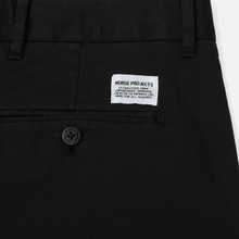 Мужские брюки Norse Projects Aros Slim Light Stretch Black фото- 4