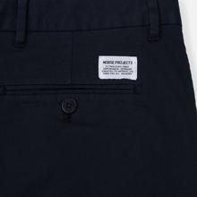 Мужские брюки Norse Projects Aros Slim Light Stretch Dark Navy фото- 4