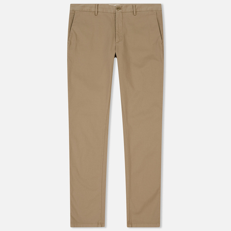 Мужские брюки Norse Projects Aros Slim Light Stretch Utility Khaki
