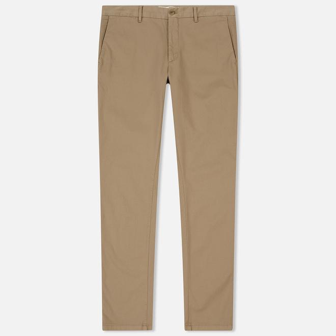 Мужские брюки Norse Projects Aros Slim Light Stretch Utility Khaki
