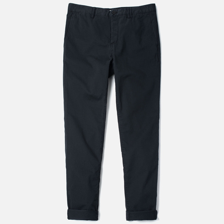 Norse Projects Aros Slim Light Twill Men`s Trousers Black