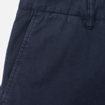 Norse Projects Aros Slim Light Twill Men`s Trousers Dark Navy photo- 1