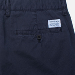 Norse Projects Aros Slim Light Twill Men`s Trousers Dark Navy photo- 3