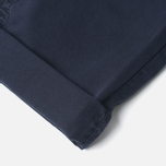 Norse Projects Aros Slim Light Twill Men`s Trousers Dark Navy photo- 4