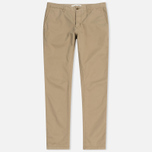 Мужские брюки Norse Projects Aros Slim Light Twill Khaki фото- 0