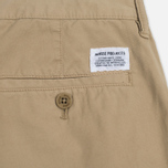 Мужские брюки Norse Projects Aros Slim Light Twill Khaki фото- 3