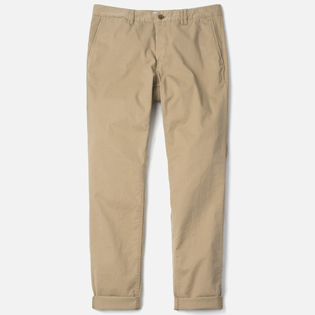 Мужские брюки Norse Projects Aros Slim Light Twill Khaki