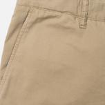 Norse Projects Aros Slim Light Twill Men`s Trousers Khaki photo- 1