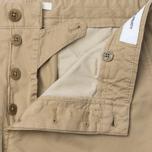 Norse Projects Aros Slim Light Twill Men`s Trousers Khaki photo- 2