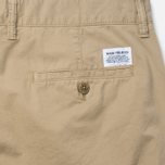 Norse Projects Aros Slim Light Twill Men`s Trousers Khaki photo- 3