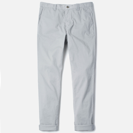Norse Projects Aros Slim Light Twill Men`s Trousers Light Grey