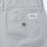 Мужские брюки Norse Projects Aros Slim Light Twill Light Grey фото- 3
