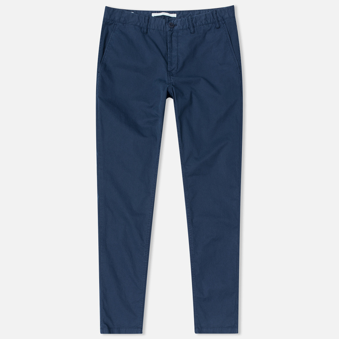 Мужские брюки Norse Projects Aros Slim Light Twill Navy