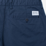 Мужские брюки Norse Projects Aros Slim Light Twill Navy фото- 3