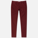 Norse Projects Aros Slim Light Twill Men's trousers Red Clay photo- 0