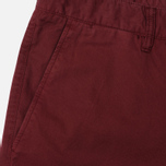Norse Projects Aros Slim Light Twill Men's trousers Red Clay photo- 1