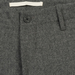 Мужские брюки Norse Projects Harri Tapered Dry Wool Nylon Light Grey Melange фото- 2