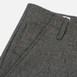 Мужские брюки Norse Projects Harri Tapered Dry Wool Nylon Light Grey Melange фото- 3