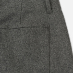Мужские брюки Norse Projects Harri Tapered Dry Wool Nylon Light Grey Melange фото- 4