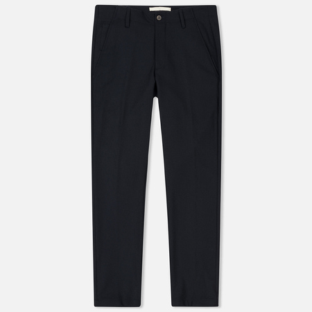 Мужские брюки Norse Projects Harri Tapered Dry Wool Nylon Navy