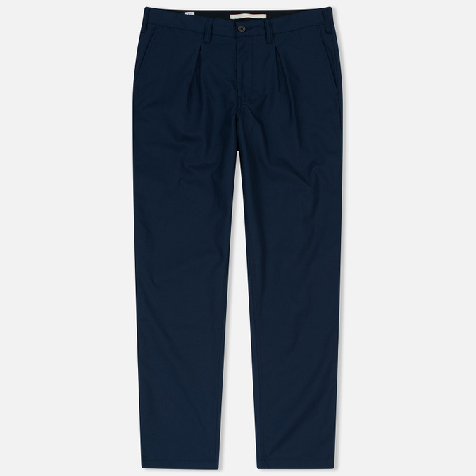 Мужские брюки Norse Projects Sten Cotton Panama Navy