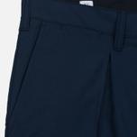 Мужские брюки Norse Projects Sten Cotton Panama Navy фото- 1