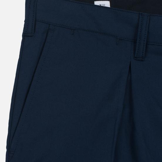 Мужские брюки Norse Projects Sten Cotton Panama Navy