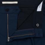 Мужские брюки Norse Projects Sten Cotton Panama Navy фото- 2