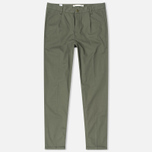 Мужские брюки Norse Projects Sten Light Military Cotton Dried Olive фото- 0