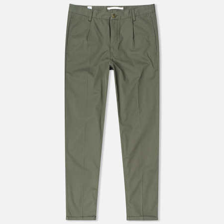 Norse Projects Sten Light Military Cotton Men's trousers Dried Olive